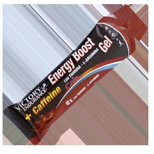 ENERGY BOOST GEL Caffeine Cola
