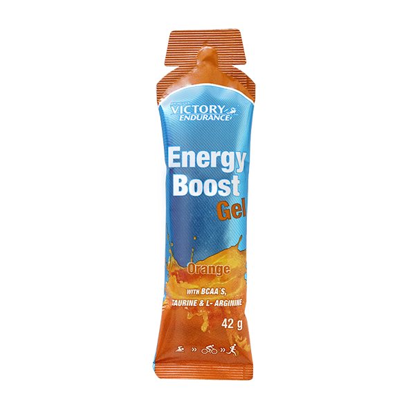 Energy boost gel naranja